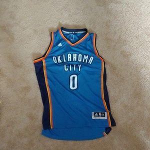 OKC thunder Westbrook jersey